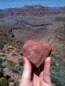 heart rock grand canyon