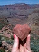 heart rock grand canyon