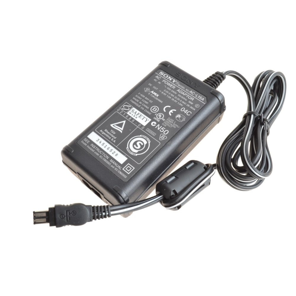 Original Netzteil Sony AC-L15A Output: 8.4V-1.5. 24.90