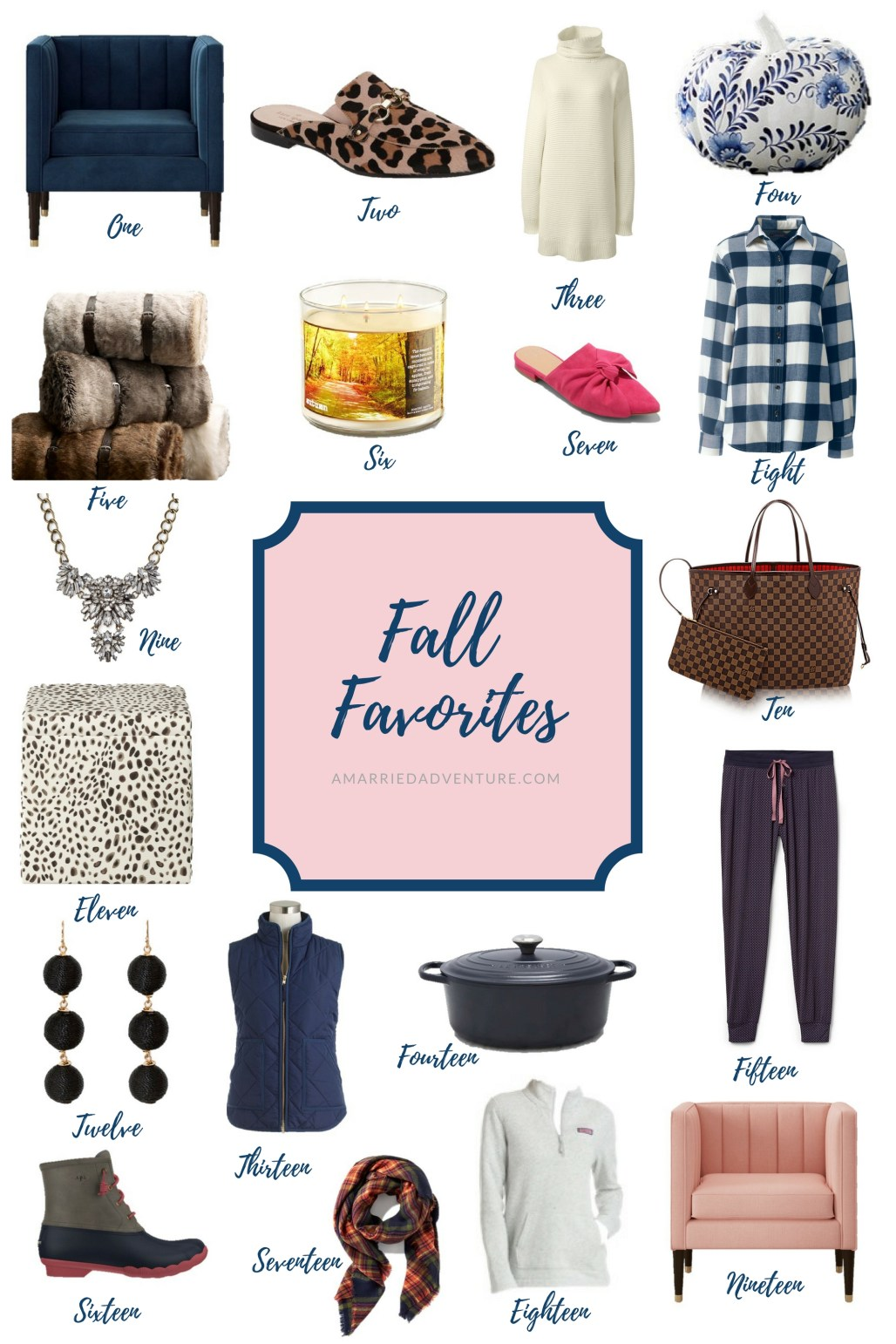 Fall Favorites: AMarriedAdventure