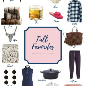 My Fall Favorites of The Season