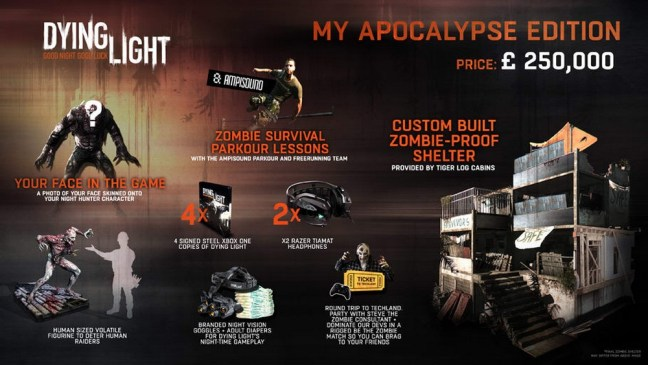 Dying Light Apocalypse Edition contents
