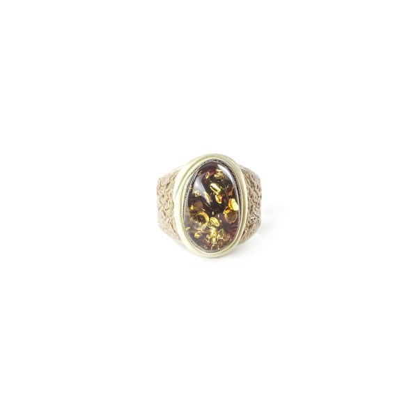 leather-ring-with-natural-baltic-amber-lioness-2