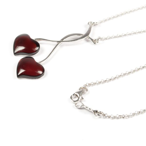 silver-chain-necklace-with-silver-and-natural-baltic-amber-pendant-two-hearts-2