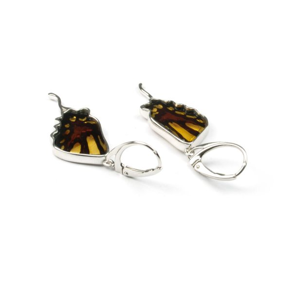silver-earrings-with-natural-baltic-amber-butterfly-wings