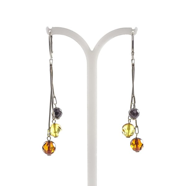 silver-earrings-with-natural-baltic-amber-craberries-2