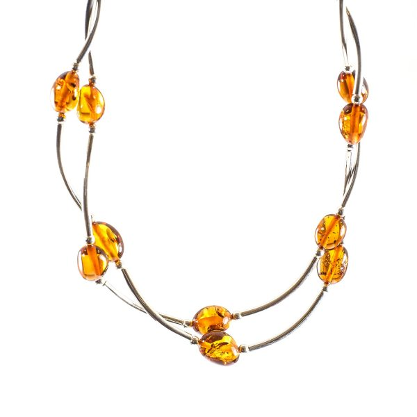 silver-necklace-with-natural-baltic-amber-fliat