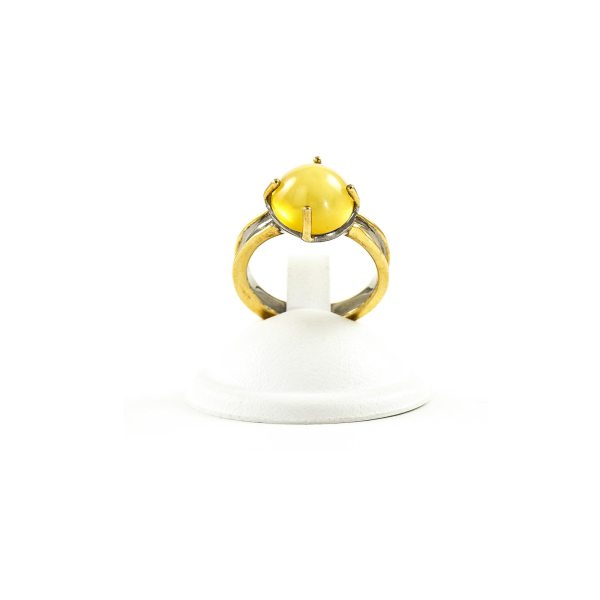 silver-ring-with-amber-stone-ola-3