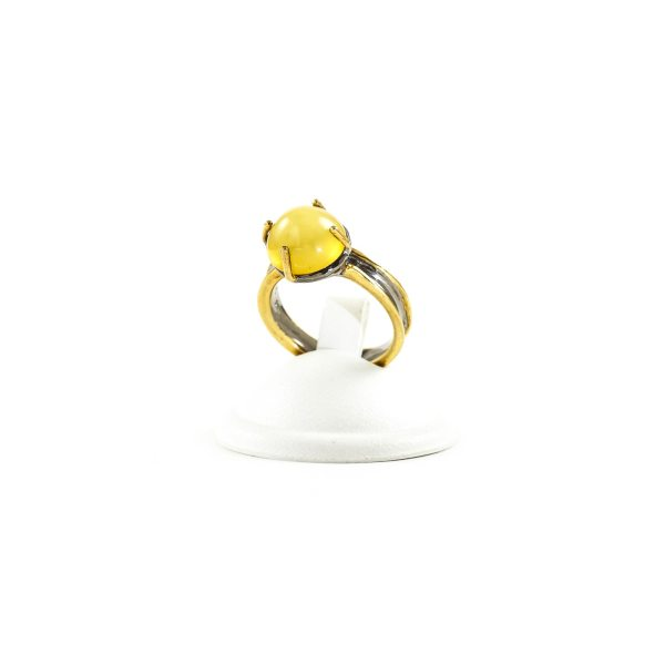 silver-ring-with-amber-stone-ola