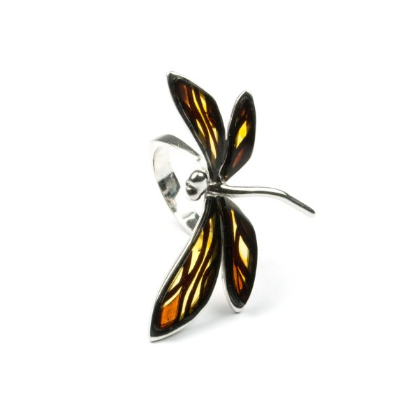 silver-ring-with-natural-baltic-amber-dragonfly