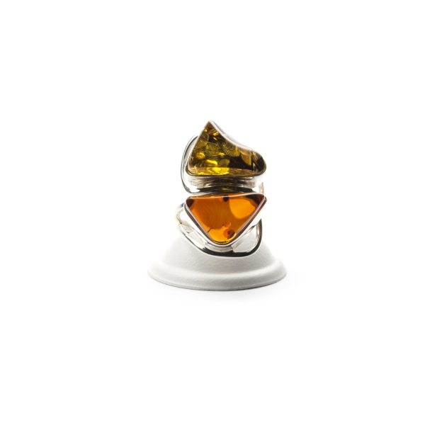silver-ring-with-two-batural-baltic-amber-stones-3
