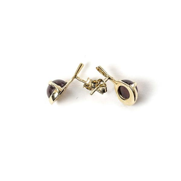 gold-earrings-14k-with-natural-baltic-amber-baroque-cherry