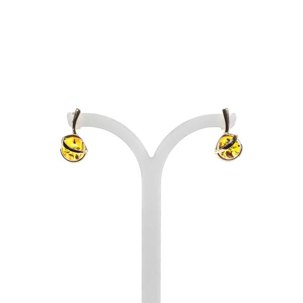 gold-earrings-14k-with-natural-baltic-amber-baroque-cognac-2