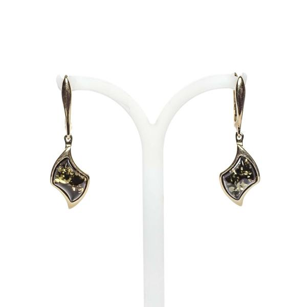 gold-earrings-14k-with-natural-baltic-amber-beau-monde-green-2