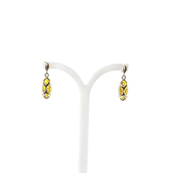gold-earrings-14k-with-natural-baltic-amber-egypt-2