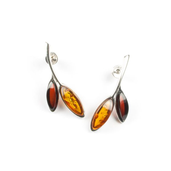 silver-earrings-with-natural-cognac-and-cherry-amber-amusement