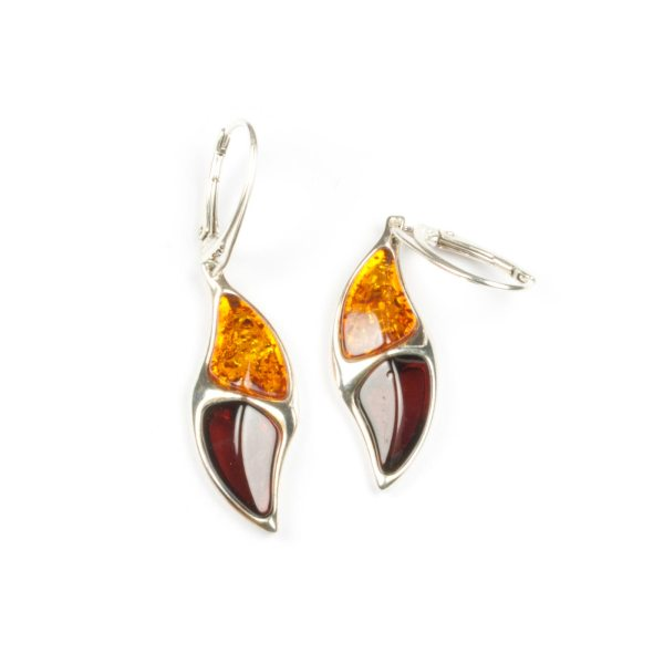 silver-earrings-with-natural-cognac-and-cherry-amber-camea