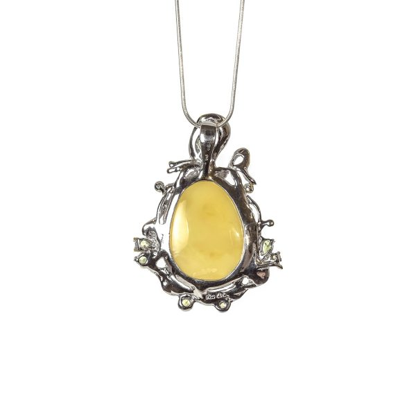 silver-pendant-with-natural-baltic-amber-malibu-backside