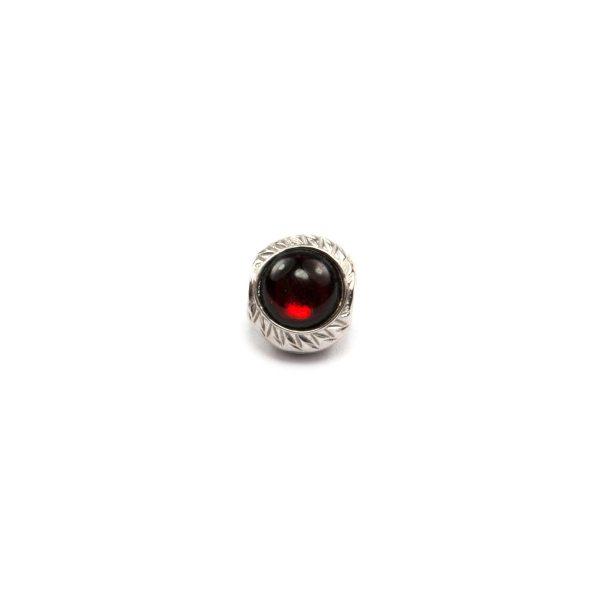 Cherry Amber Charm Beads