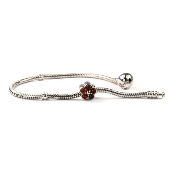 Pandora Silver Charm on Bracelet