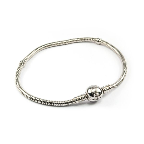 Silver Bracelet for Pandora Style Beads