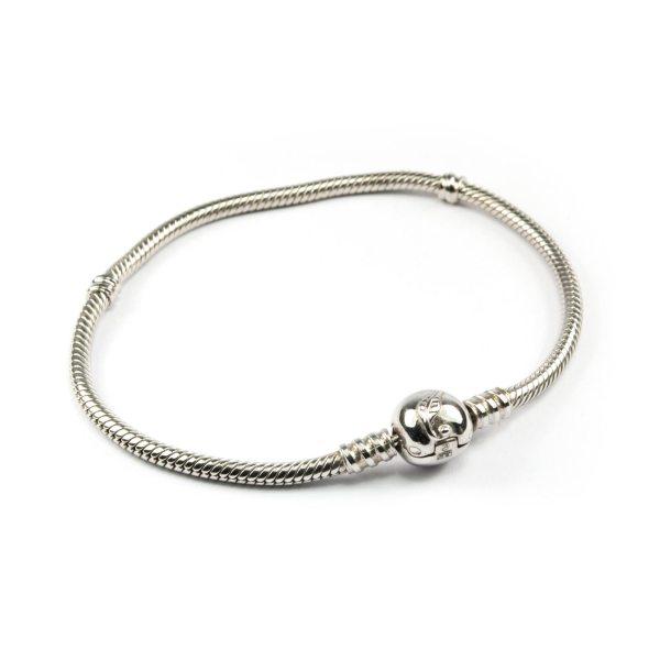 Silver Bracelet for Pandora Style Beads