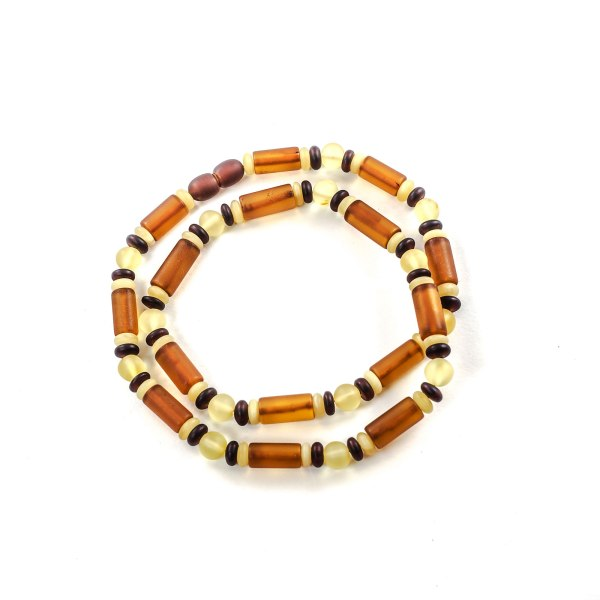 Amber Necklace for Men on Surface