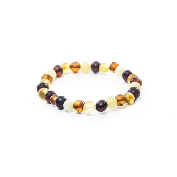 Colored Amber Bracelet