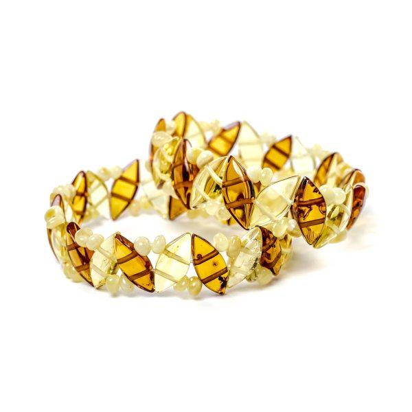 Two Amber Bracelets