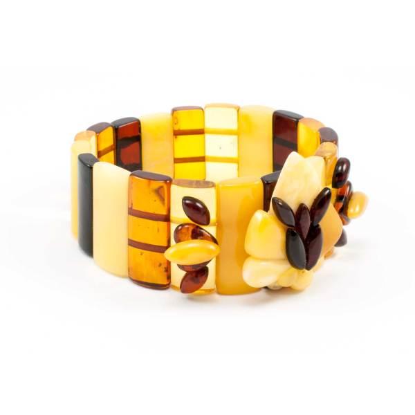 Pure Amber Color Bracelet