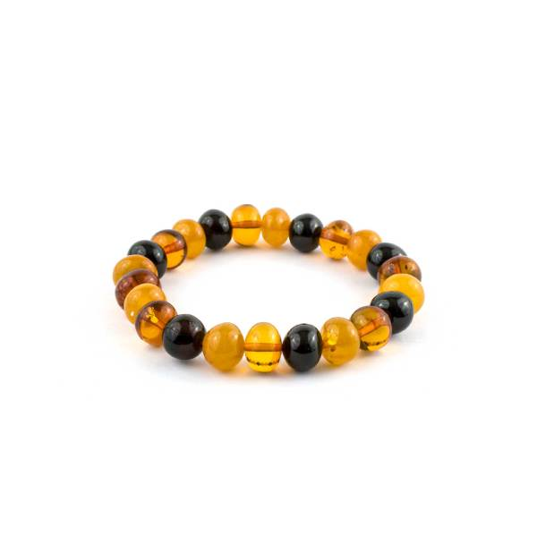 Honey Color Accent Baroque Beads Bracelet