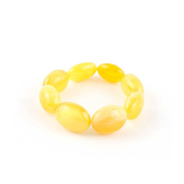 Large Beans Amber Bracelet