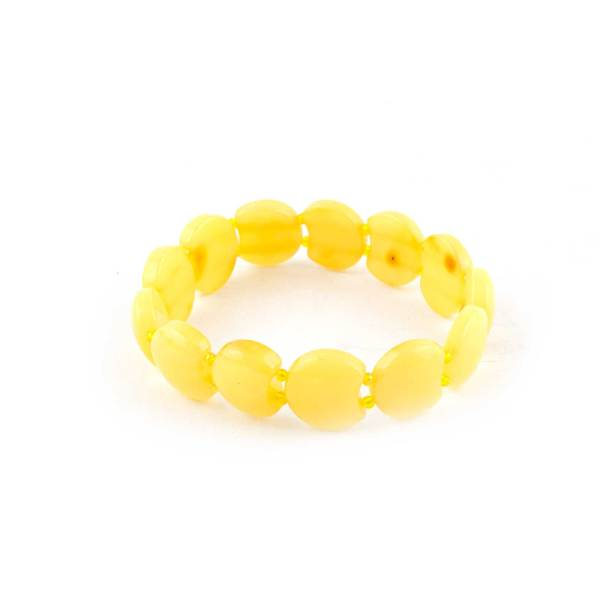 Yellow Amber Bracelet