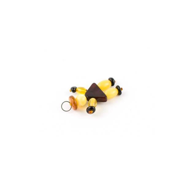 Amber Figurine Pendant