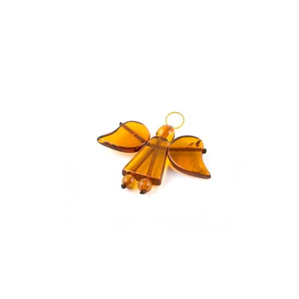 Amber Pendant Angel Figurine