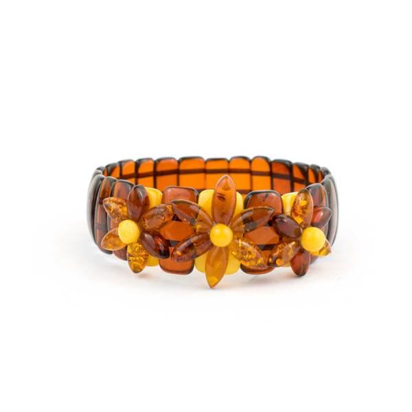 Cherry Amber Strech Bracelet