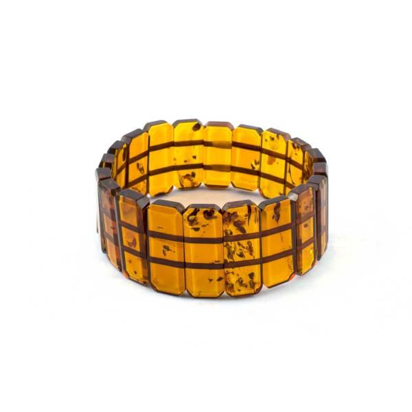 Cognac strech bracelet