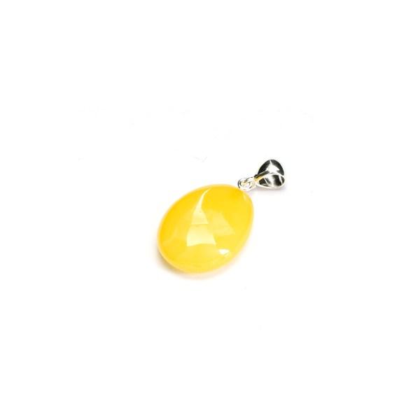 Honey Oval Amber Pendant