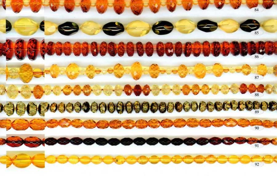 84-92 gintariniai karoliai