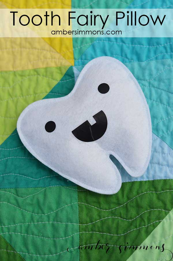 tooth fairy pillow with cricut maker