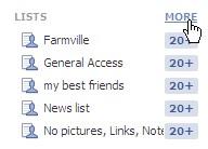 Facebook fixes: Lists vs Groups (1/4)