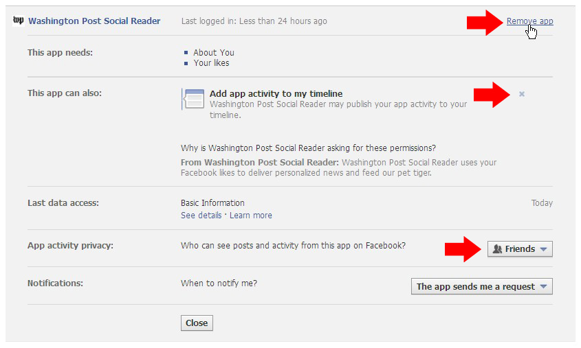 Facebook Fixes: How to prevent articles you have read online from showing up on your wall (3/3)