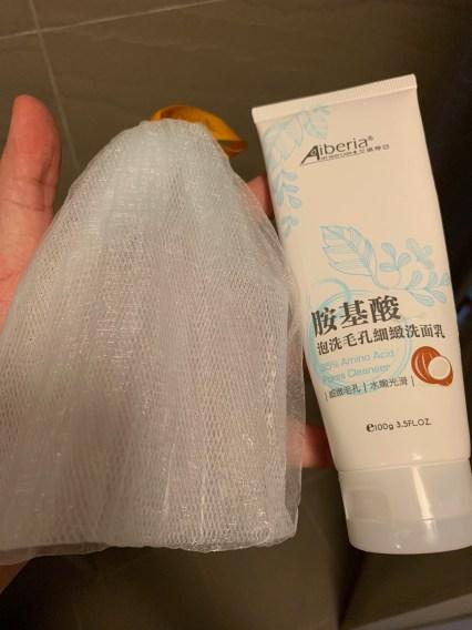 洗面乳加起泡網