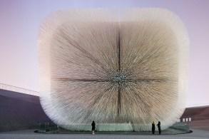 The UK Pavilion, World Expo 2010 in Shanghai, China