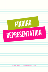 finding representation