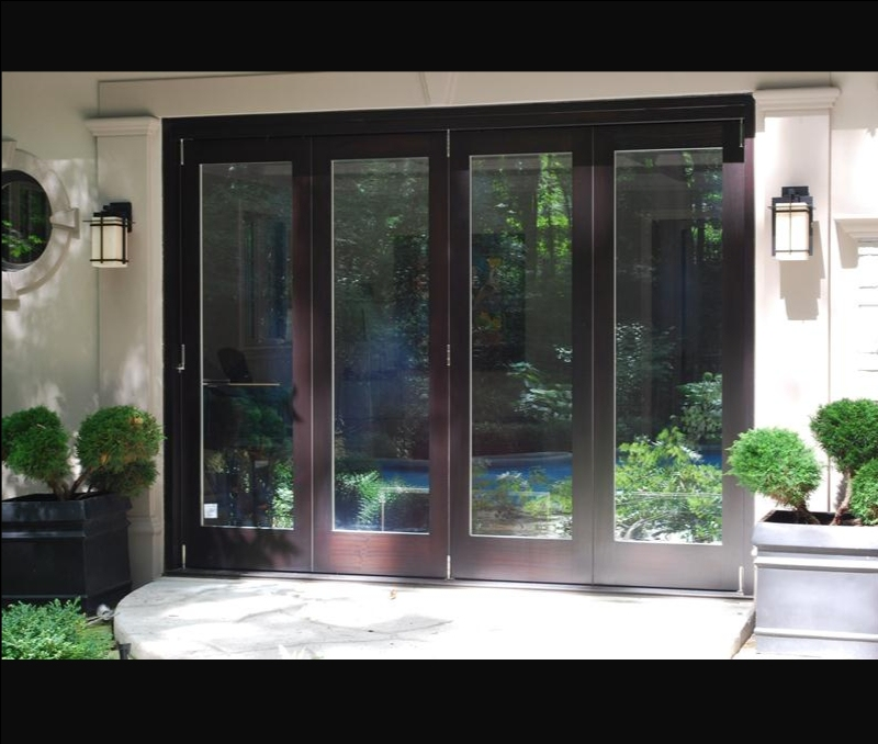 Panoramic Bi Folding Doors Amberwood Doors Inc