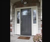 Exterior Doors: Side Light Entry Doors - Amberwood Doors Inc.