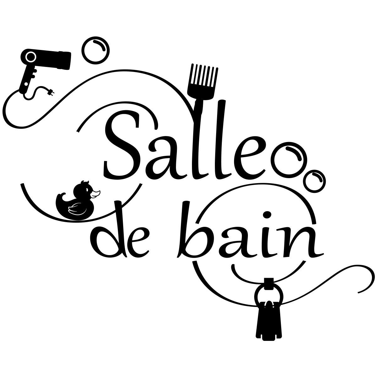 Charmant Stickers Muraux Salle De Bain Stickers Salle De Bain Pas