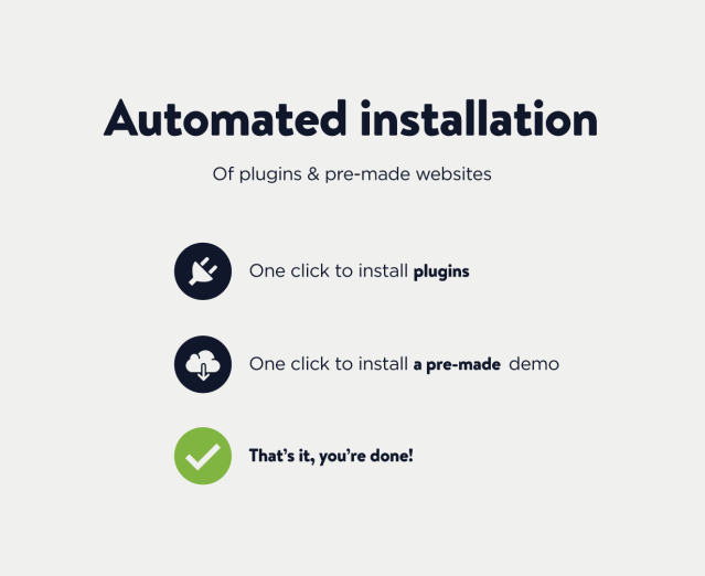 Automated installation