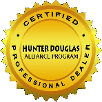 Hunter Douglas Certified Professional Dealer